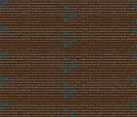 Bible Verses Tote Fabric fabric by cksstudio80 on Spoonflower - custom fabric