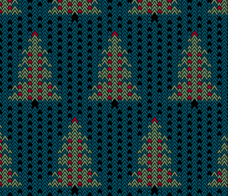 Christmas Sweater fabric by pond_ripple on Spoonflower - custom fabric