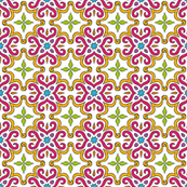 Barock style Cut Art to pattern.