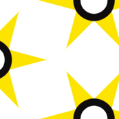 retro Yellow Star