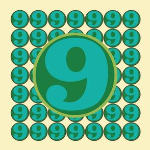 Nine (front side)