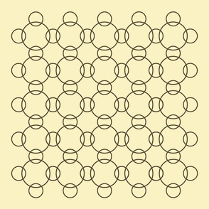 nine back (brown circles)