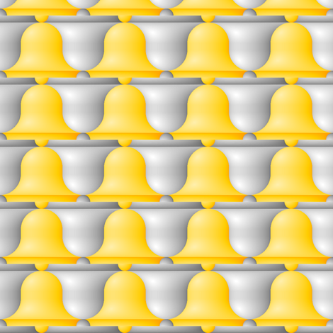 gradient bells fabric by sef on Spoonflower - custom fabric