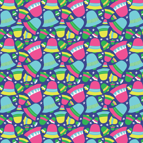 bells fabric by tammiebennett on Spoonflower - custom fabric