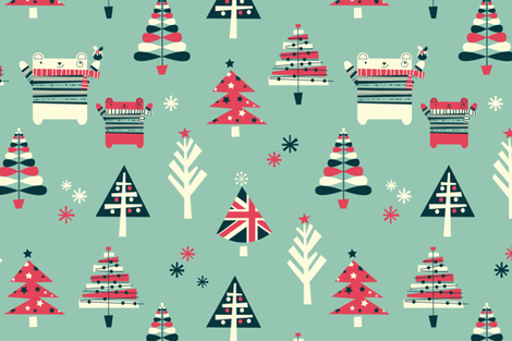 britty chrissy fabric by amel24 on Spoonflower - custom fabric