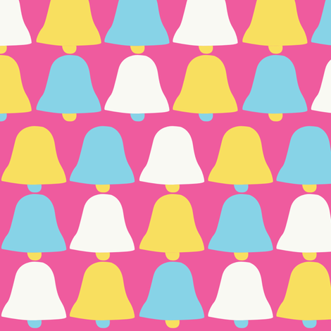 pinkbells fabric by tammiebennett on Spoonflower - custom fabric