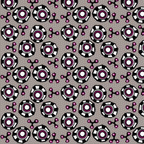 whacky eyes fabric by glimmericks on Spoonflower - custom fabric