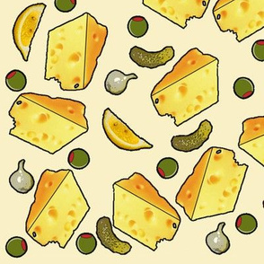 Hors d'oeuvres cheese - big