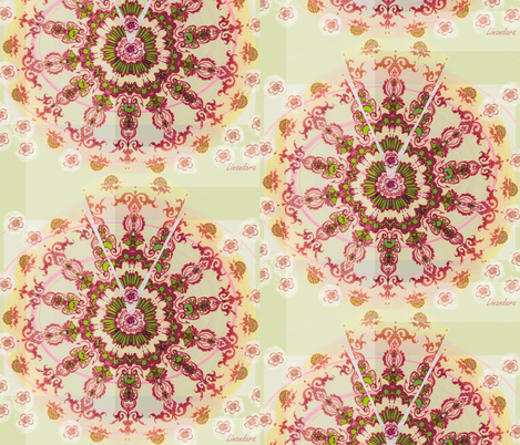 Rayonnant by Alexandra Cook aka Linandara fabric by linandara on Spoonflower - custom fabric