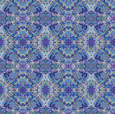 Midnight Gardens fabric by edsel2084 on Spoonflower - custom fabric