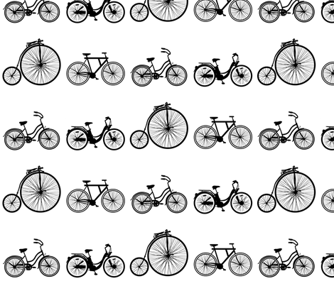 bicycle race fabric by avelis on Spoonflower - custom fabric