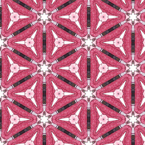 Parvati's Beams and Caltrops fabric by siya on Spoonflower - custom fabric