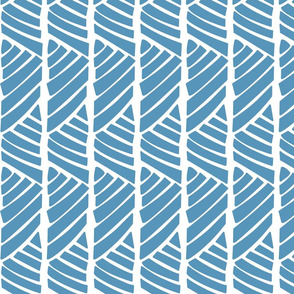 Bamboo Stripes_Blue