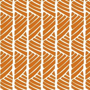 Bamboo Stripe_Orange