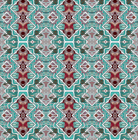 Formal is the New Normal (north south orientation) fabric by edsel2084 on Spoonflower - custom fabric