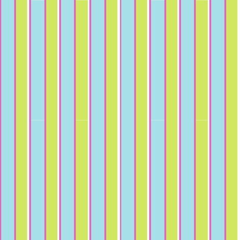 Teapot Stripe fabric by countrygarden on Spoonflower - custom fabric