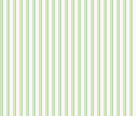 Celery Green Stripe Two fabric by countrygarden on Spoonflower - custom fabric