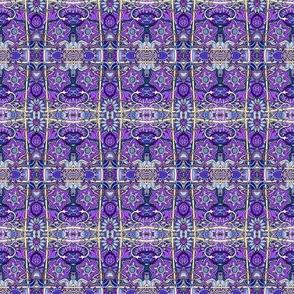 Purple Posies Posing