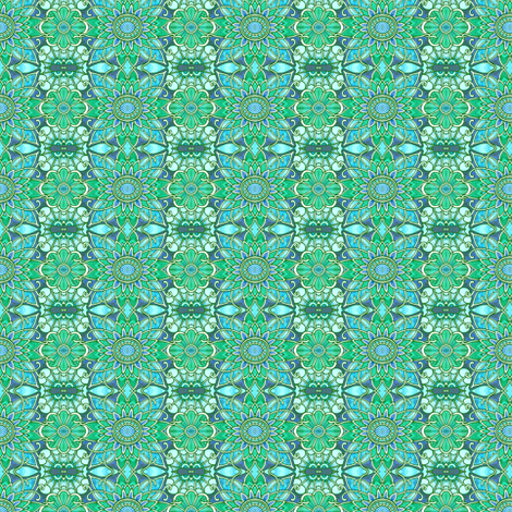 Sitting by the Pool in Hawaii fabric by edsel2084 on Spoonflower - custom fabric