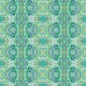 Little Green Paisleys