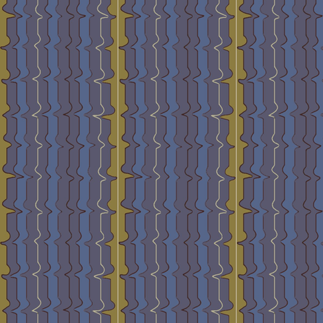 Liquid Blue fabric by david_kent_collections on Spoonflower - custom fabric