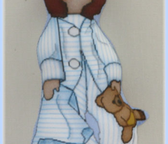 Baby Nicky Boy Cut and Sew Doll Ornament