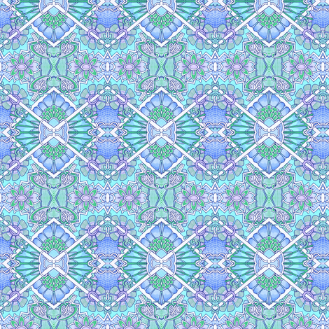 Little Boy Blue  fabric by edsel2084 on Spoonflower - custom fabric