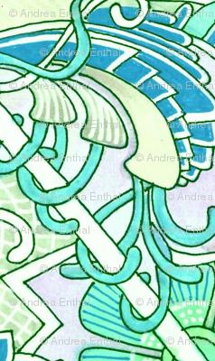 Aqua Time (horizonal stripe)