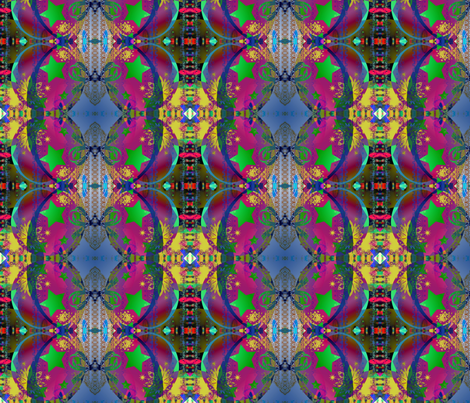 Hippie Hollidays fabric by _vandecraats on Spoonflower - custom fabric