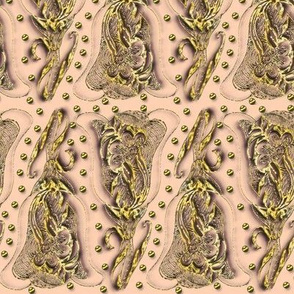 Filigree Tulip in Beige