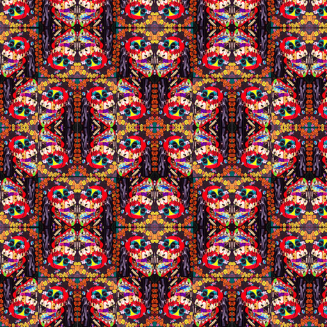 CALAVERITA fabric by loris on Spoonflower - custom fabric