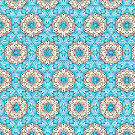 Ridorius's Wheel fabric by siya on Spoonflower - custom fabric
