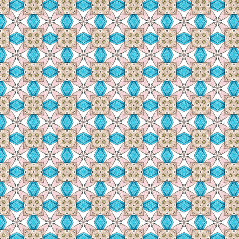 Ridorius's Tiles fabric by siya on Spoonflower - custom fabric