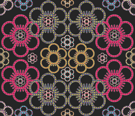 dark_bloom fabric by snork on Spoonflower - custom fabric
