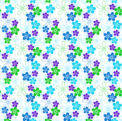 ISLAND COOL! - © PinkSodaPop 4ComputerHeaven.com fabric by pinksodapop on Spoonflower - custom fabric