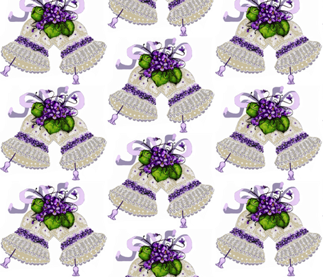 couture bells  fabric by paragonstudios on Spoonflower - custom fabric
