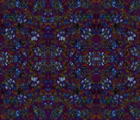 Catleidoscope 1 - Plum, Russet, Blue, Green