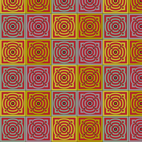 Target: Flower (Prototype) fabric by david_kent_collections on Spoonflower - custom fabric