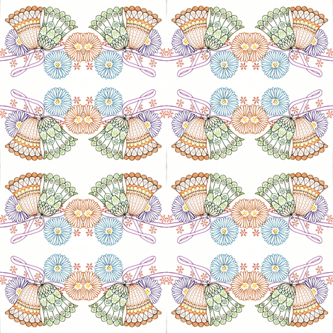 ringing bell's fabric by kushma on Spoonflower - custom fabric