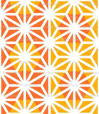 Asanoha (Yellow)