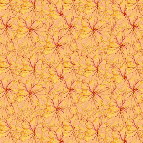 Fantasy Flowers - Pale Orange