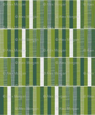 Woodland Woodcut Stripe