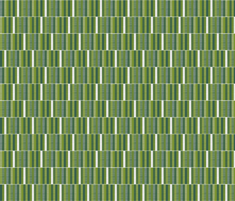 Woodland Woodcut Stripe fabric by spellstone on Spoonflower - custom fabric