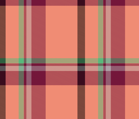 Tartan Plaid 48, L fabric by animotaxis on Spoonflower - custom fabric