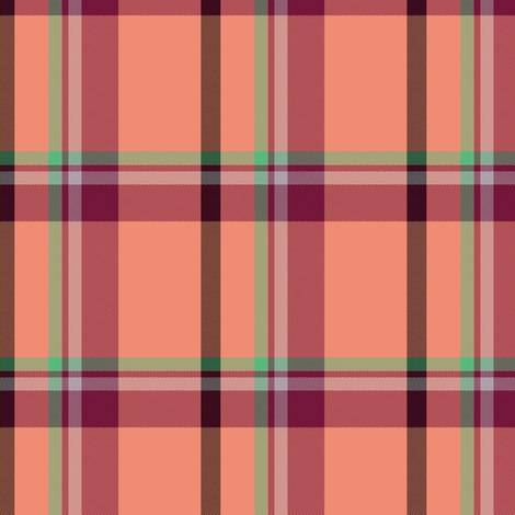 Tartan Plaid 48, S fabric by animotaxis on Spoonflower - custom fabric