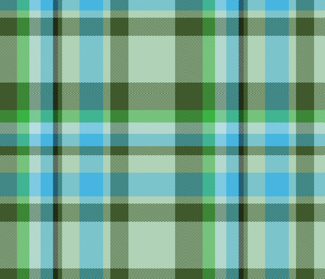 Tartan Plaid 49, L fabric by animotaxis on Spoonflower - custom fabric