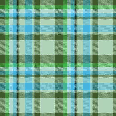 Tartan Plaid 49, S fabric by animotaxis on Spoonflower - custom fabric