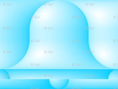 gradient blue bells