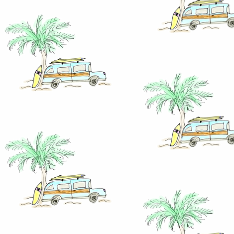 Surf City fabric by captiveinflorida on Spoonflower - custom fabric