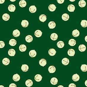 Jingle Bells (green and silver)
